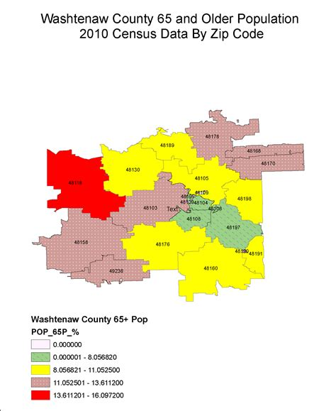 us area codes by population washtenaw data bank blueprint for aging