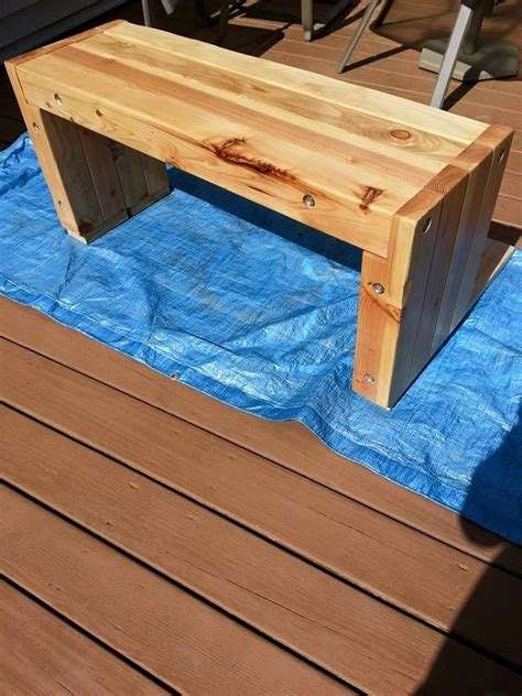 4x4 bench 17 best images about patio furniture on pinterest outdoor benches home projects and