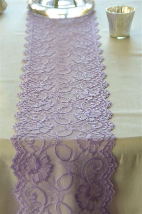 lilac lavender lace trim 7 quot wide lace trim 72 quot table