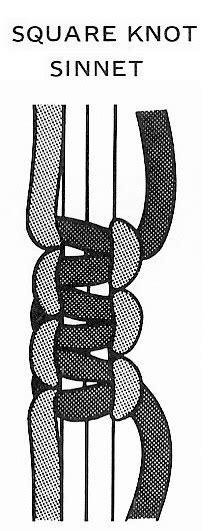 Square Knot Sinnet - macrameknots