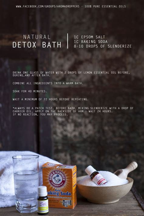 Detox Essential Bath Recipe by Best 25 Simply Aroma Ideas On Essential