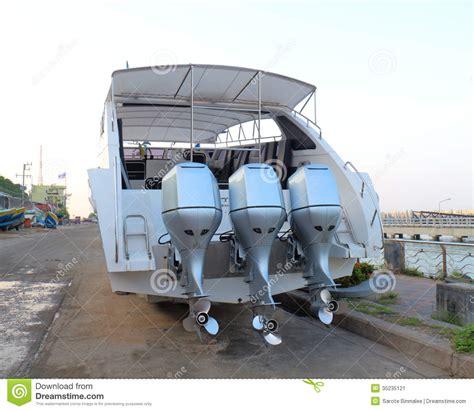 speed boat propeller motor propeller of speed boat stock image image 35235121