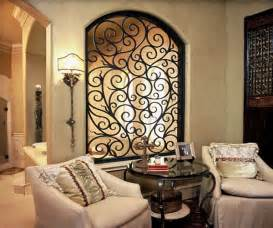 Iron Wall Decor by Wrought Iron Wall Decor
