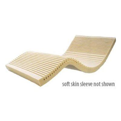 geo matt therapeutic overlay with fire retardant soft skin