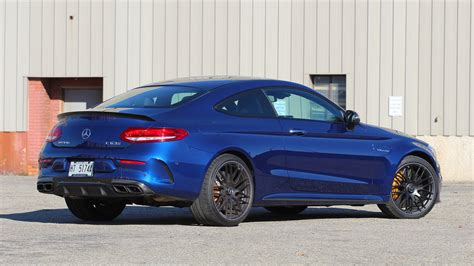 c63 s coupe 2017 mercedes amg c63 s coupe review the snazzy lunatic