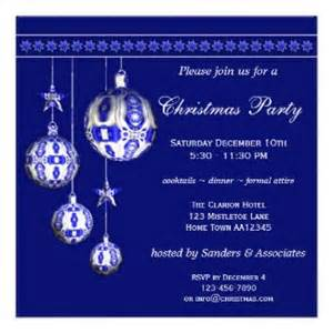 Christmas White Party - christmas party invitations by anne vis