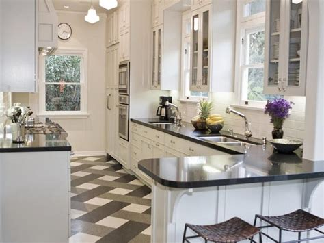 black and white kitchen floor miscellaneous applying black and white floors in kitchen pattern interior decoration and