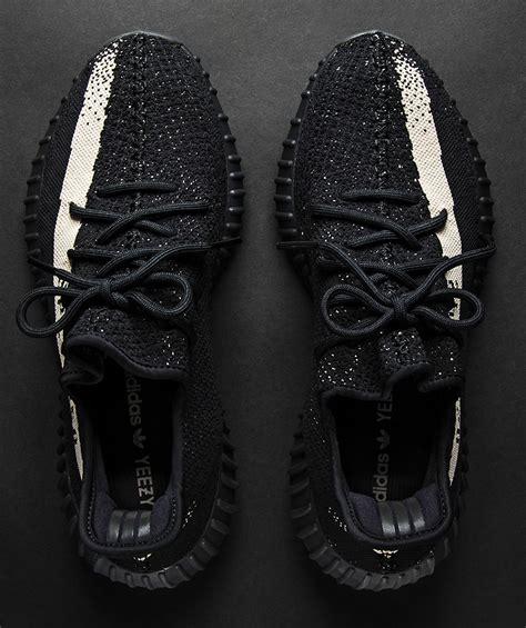 Sepatu Adidas Yeezy Boost Slip On V2 Black White yeezy boost 350 v2 black white release date sneakernews