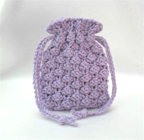 knit pattern soap holder knitted soap bag soap saver soap pouch small drawstring