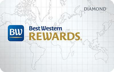 best western rewards program best western card image