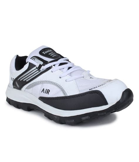 sport tennis shoes buy tennis air white black sports shoes for snapdeal