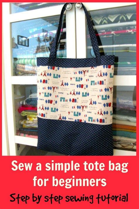 codeigniter tutorial for beginners step by step free download simple tote bag free pattern and step by step tutorial