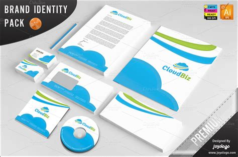 14 It Services Business Card Templates Free Printable Card Designs Cloud Business Template