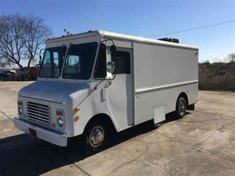 chevrolet grumman box delivery 1985 box trucks