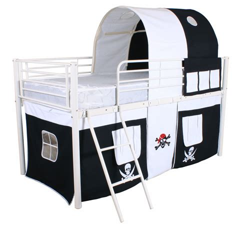 kids bedside l mid sleeper cabin bed childrens kids bed tent bunk bed