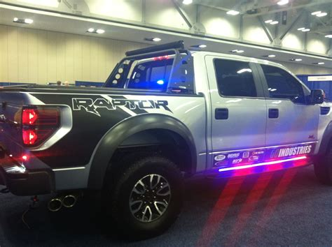 undercover police jeep ford raptor special service vehicle at the police fleet