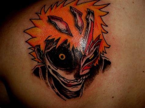 tattoo back evil anime evil tattoo on back shoulder