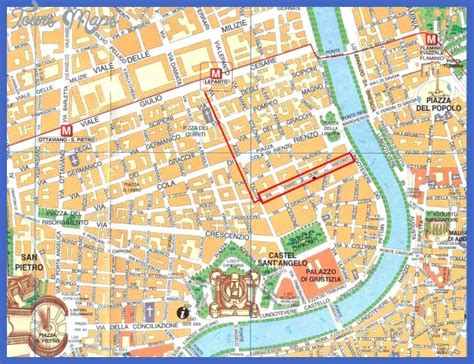 rome map tourist attractions rome map tourist attractions toursmaps
