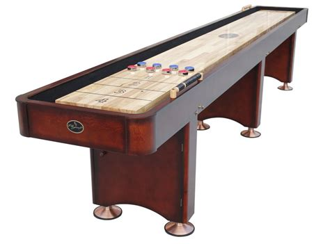 playcraft georgetown shuffleboard table playcraft 12 georgetown shuffleboard table