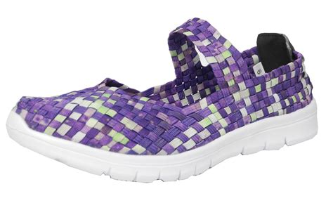 womens stretch shoes superlight woven interlaced