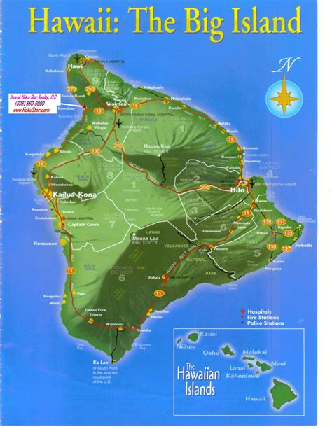 printable road map of big island hawaii popular 230 list map of big island hawaii