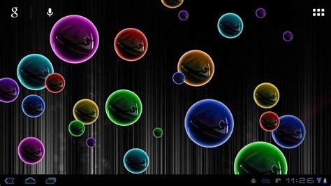 live wallpaper for pc bubbles neon bubble live wallpaper youtube