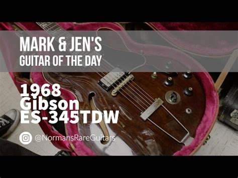 idm full version khuya norman s rare guitars guitar of the day 1968 gibson es