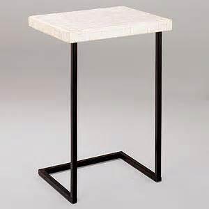 living room laptop table capiz shell laptop table living room furniture furniture world market