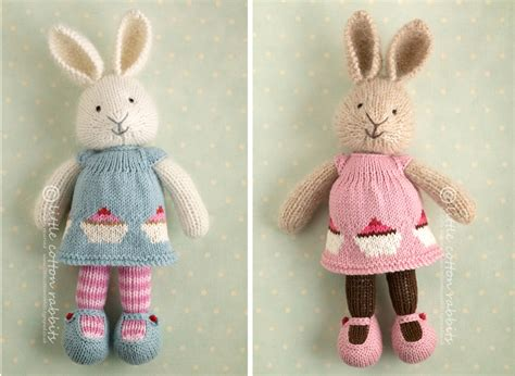 rabbit pattern clothes 7 years little cotton rabbits dress designs cup cakes