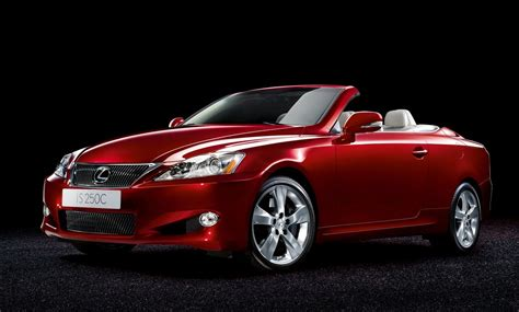 lexus    convertible top speed