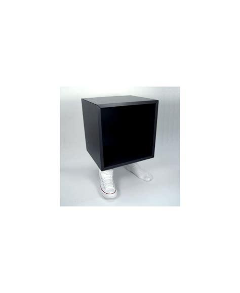 cubo arredo tavolino cubo arredo base a forma di piedi con scarpe da