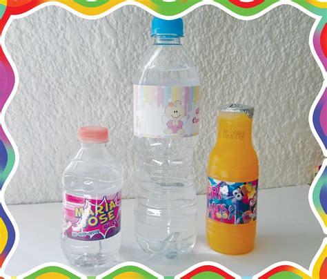 impresion de etiquetas para botellas de agua etiquetas impermeables para botellas de agua 4 00 en