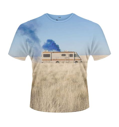 Kaos T Shirt Breaking Bad breaking bad trailer t shirt official somethinggeeky