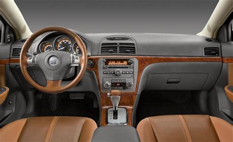 Saturns Interior by Car And Driver