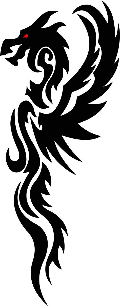 tattoo png format clipart tribal dragon 5