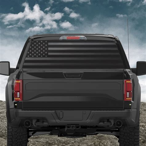 american flag truck american flag truck window sticker custom sticker