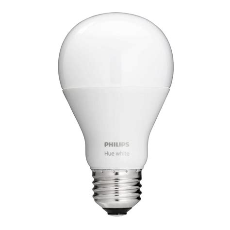 philips a19 led light bulb philips 60w equivalent soft white a19 hue connected home