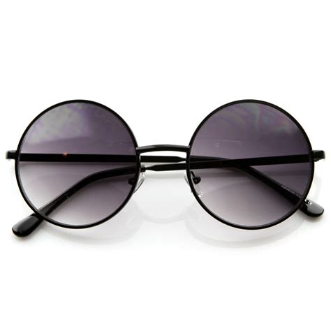 Fashion Sun Glasses new designer fashion medium metal circle womens