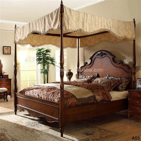 online bed shopping new luxury solid wood furniture bedroom a53 buy