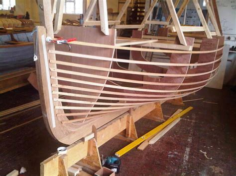 origami metal boat building ian baird s replica of a dorset crab and lobster boat in