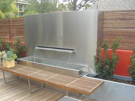 Patio Fountains by Outdoor Patio Wall Fountains Design Ideas