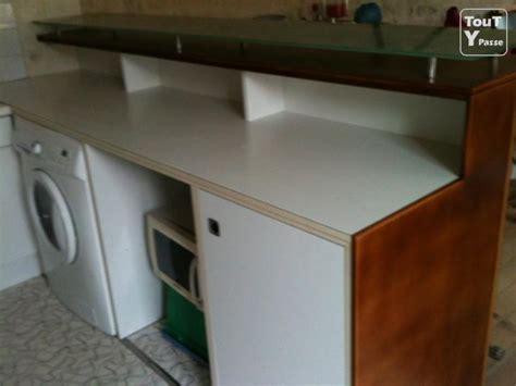 meuble cuisine am駻icaine table rabattable cuisine meuble bar cuisine americaine