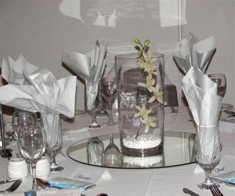 Decorations for Tables at Wedding Reception