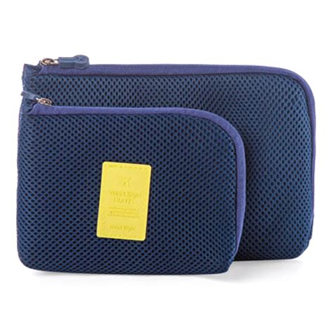 Travel Pouch Size L Tas Travel Besar Limited tas travel polyester mesh size l blue jakartanotebook