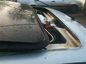 renault clio electric sunroof repair