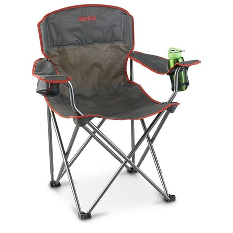 Big Folding Chair - guide gear big boy folding cing arm chair 623493
