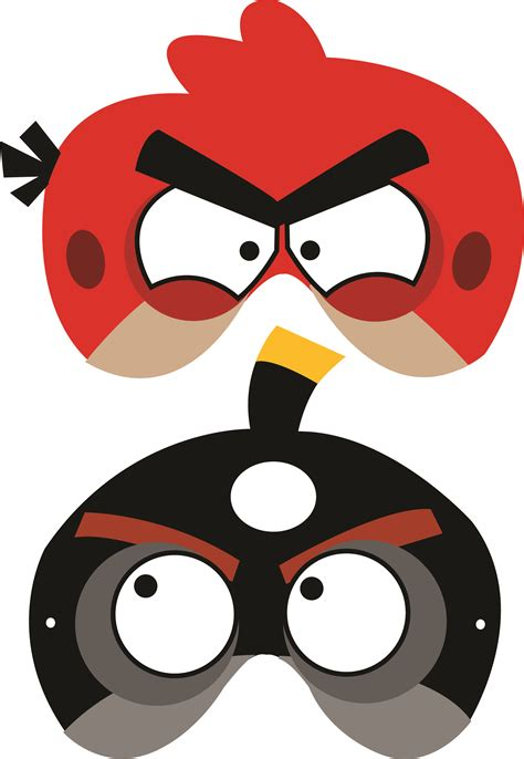 download printable halloween masks angry birds free printable masks luca s b day party