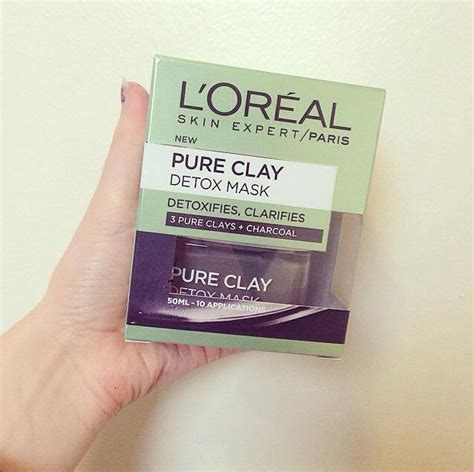 Chantecaille Detox Clay Mask Review by L Oreal Clay Detox Mask Review Jazminheavenblog