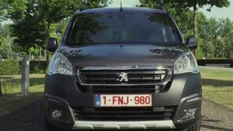 peugeot partner 2015 new peugeot partner tepee 2015 youtube