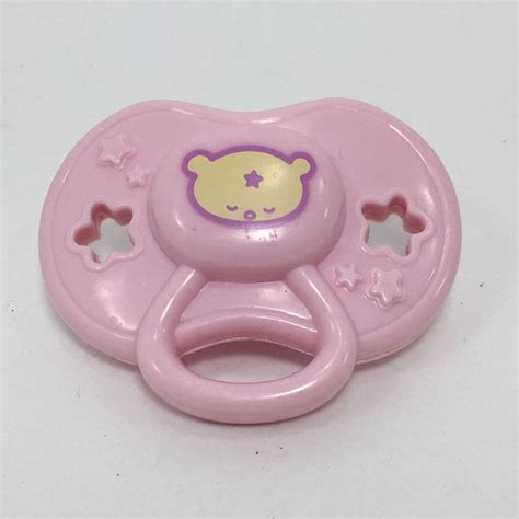 baby alive pacifier baby alive replacement pink pacifier wide for